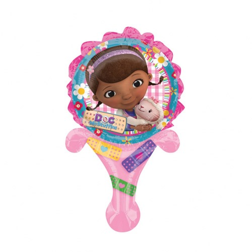 "6"" Disney Doc McStuffins Inflate A Fun Air Filled Foil Balloons"