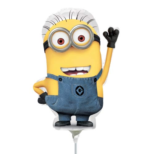 "9"" Minion Mini Shape Balloons"