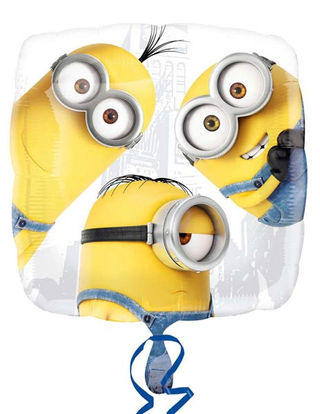 "18"" Despicable Me Minion Group Foil Balloons"