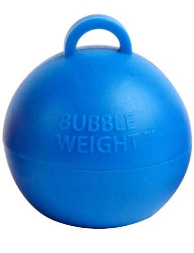Royal Blue Bubble Balloon Weights