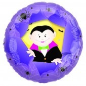 Panoramic Cute Dracula Foil Balloons