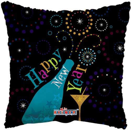 "18"" Happy New Year Foil Balloons"