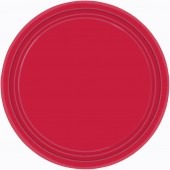 Apple Red Paper Plates 8pk