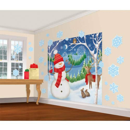 Winter Friends Scene Setter Decorating Kits