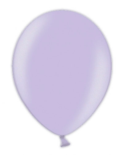 "5"" Soft Lavender Metallic Latex Balloons 100pk"