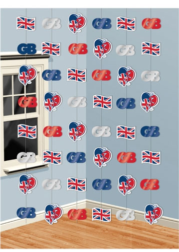 Great Britain String Decorations