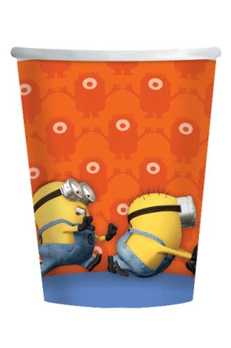 Minions Paper Cups 8pk