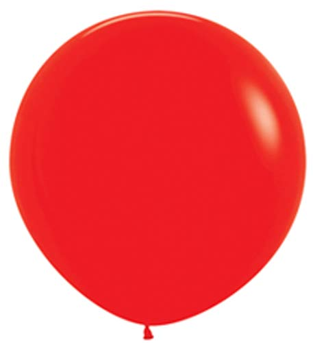 Metallic Red Giant Latex Balloons