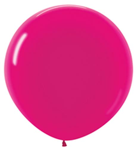 Metallic Fuchsia Pink Giant Latex Balloons
