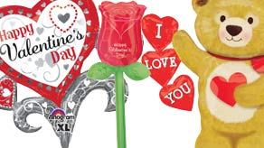 Valentines Supershape Balloons
