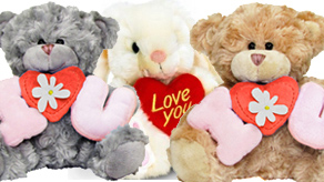 Valentines Plush Bears