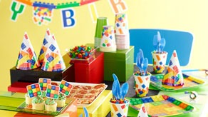 Blocks Themed Parties