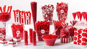 Apple Red Candy Buffet