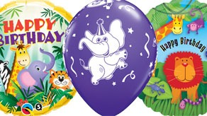 Animal Birthday Balloons