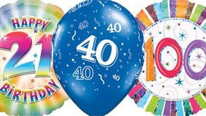 Adult Ages Balloons