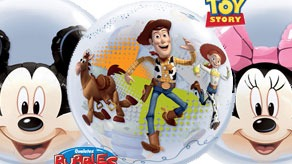 Character Bubble Balloons