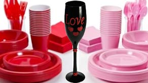 Valentines Day Tableware