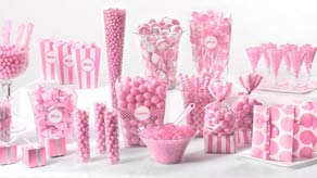 Valentines Candy Buffet