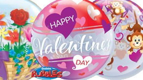 Valentines Bubble Balloons