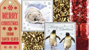 Xmas Tags, Cards & Bows