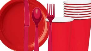 Red Nose Day Tableware