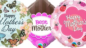 Mothers Day Foil Balloons