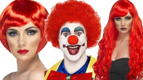 Red Nose Day Wigs