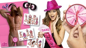 Hen Night Badges & Games