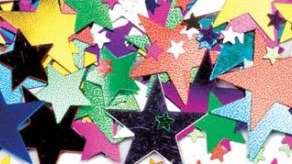 Star Shaped Metallic Confetti