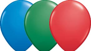 Standard Colour Latex Balloons
