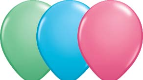 Fashion Colour Latex Balloons