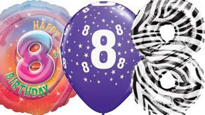 Age 8 Balloons