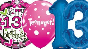 Age 13 Balloons