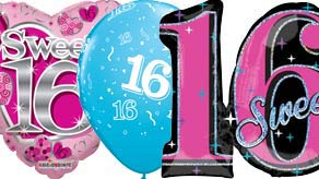 Age 16 Balloons