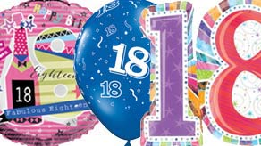 Age 18 Balloons