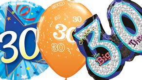 Age 30 Balloons
