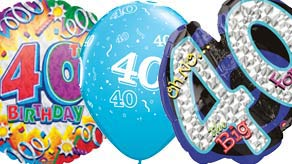 Age 40 Balloons