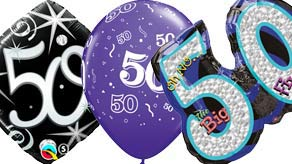 Age 50 Balloons