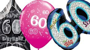 Age 60 Balloons