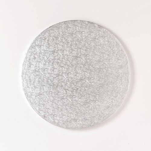 8 Inch Round Embossed Cake Board