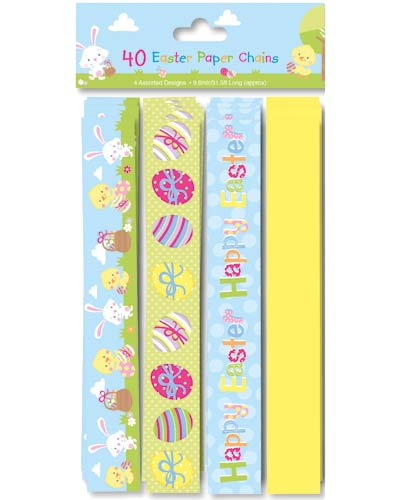 Easter Paper Chains 40 Piece