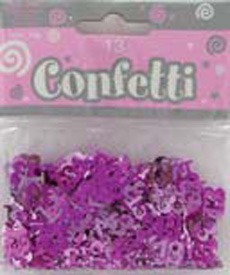 Pink Shimmer 13 Confetti