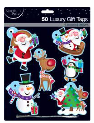 Cute Luxury Gift Tags x50