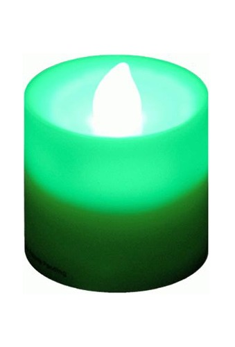 Green LED Candle Lights 12pk