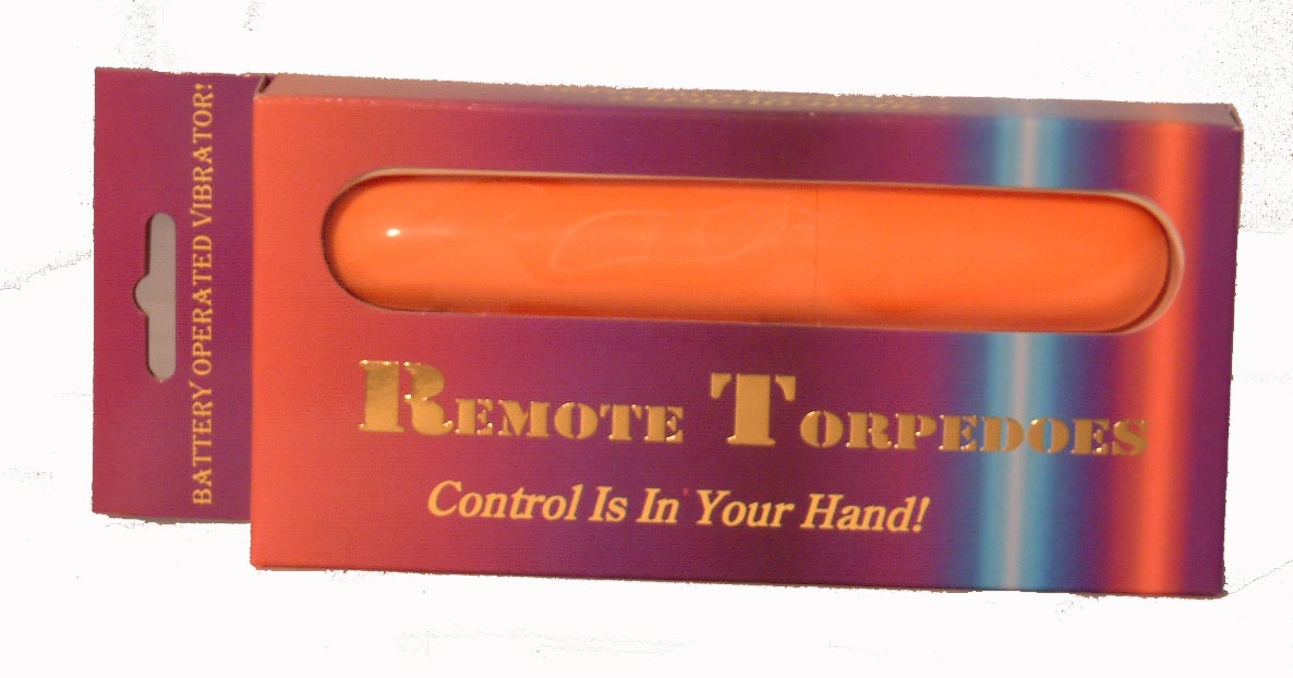 Torpedoes Vibrator With Wireless Remote Control