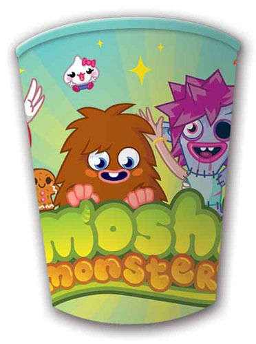 Moshi Monster Cups x 8