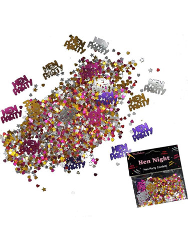 Hen Party Metallic Confetti
