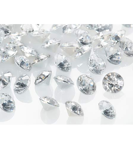 Silver Tiny Table Diamantes 30g