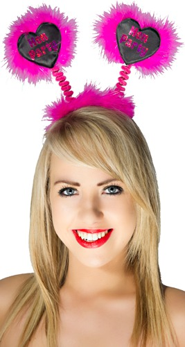Hot Pink Hen Party Boppers