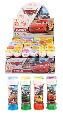 Disney Cars Bubble Tubes x36